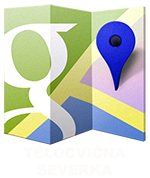 Mapa - tělocvična Severka Havířov